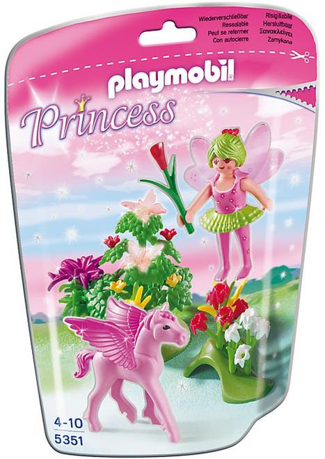 Playmobil Spring Fairy Princess with Pegasus Set #5351