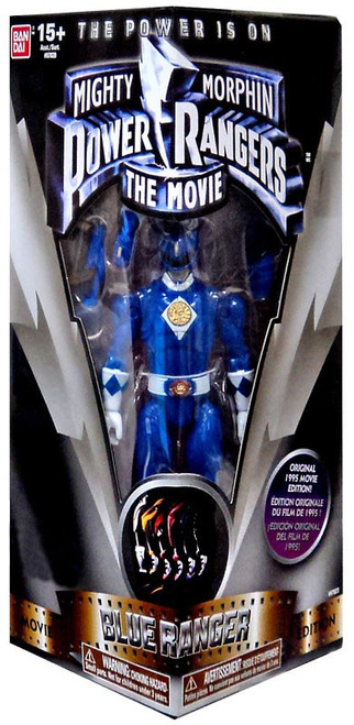 Power Rangers Mighty Morphin The Movie Blue Ranger Exclusive Action Figure