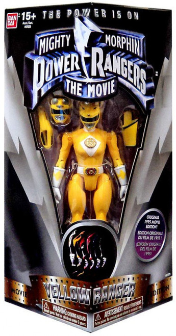 Power Rangers Mighty Morphin The Movie Yellow Ranger Exclusive Action Figure