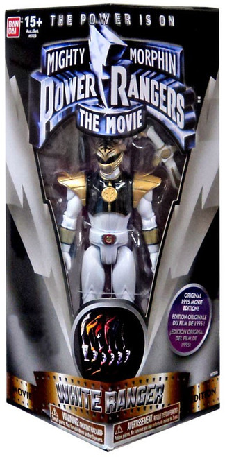 Power Rangers Mighty Morphin The Movie White Ranger Exclusive Action Figure