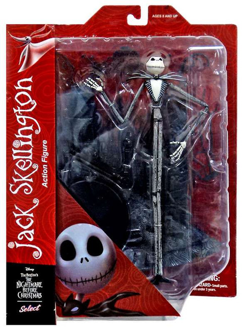 Nightmare Before Christmas Select Series 1 Jack Skellington Action Figure