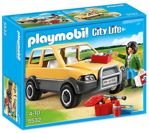 Playmobil City Life Vet with Car Set #5532
