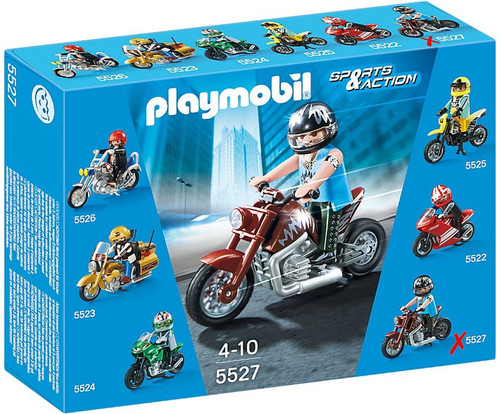 Playmobil Sports & Action Muscle Bike Set #5527