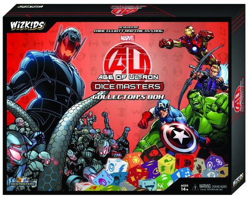 Marvel Age of Ultron Dice Masters Collector's Box