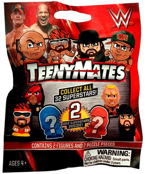 WWE Wrestling TeenyMates Series 1 Mystery Pack