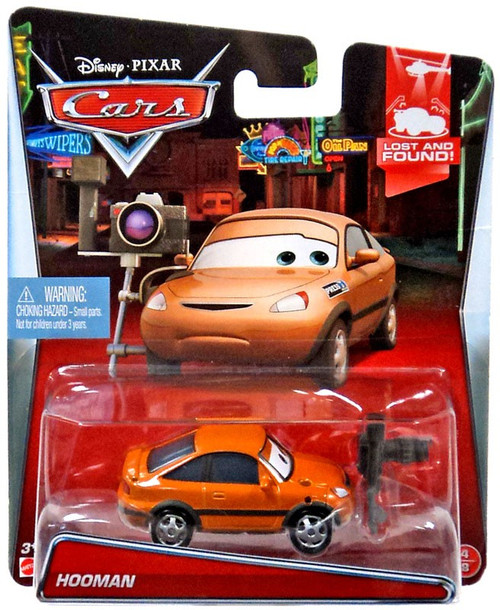 Disney / Pixar Cars Lost and Found Hooman Diecast Car #4/8