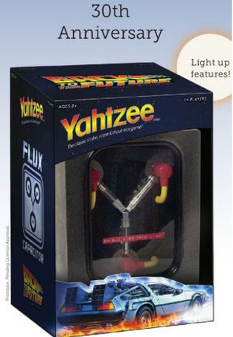 Back to the Future Yahtzee Board Game [30th Anniversary Edition]