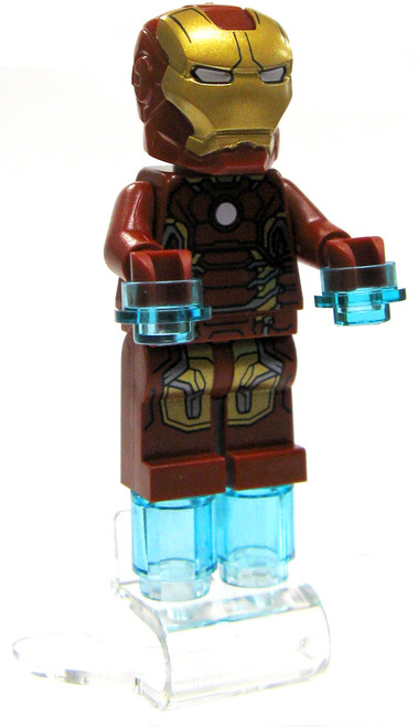 LEGO Marvel Super Heroes Iron-Man Minifigure [Mark 43 Armor Loose]