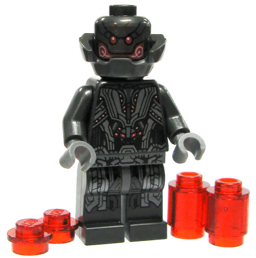 LEGO Marvel Super Heroes Ultron Prime Minifigure [Loose]