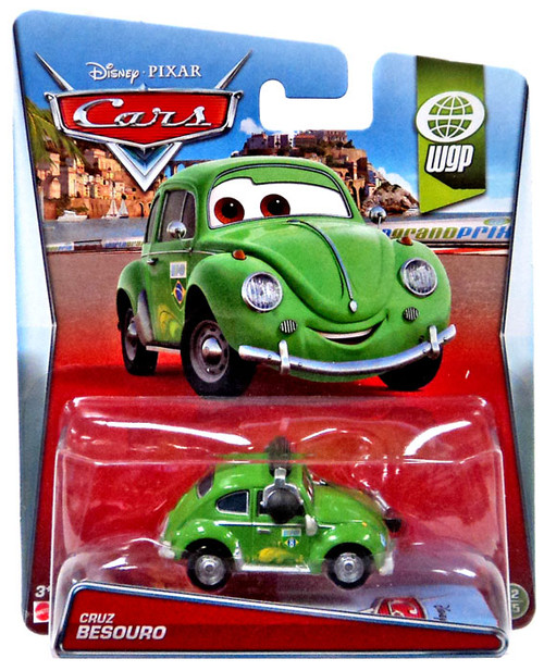 Disney / Pixar Cars WGP Cruz Besouro Diecast Car #12/15