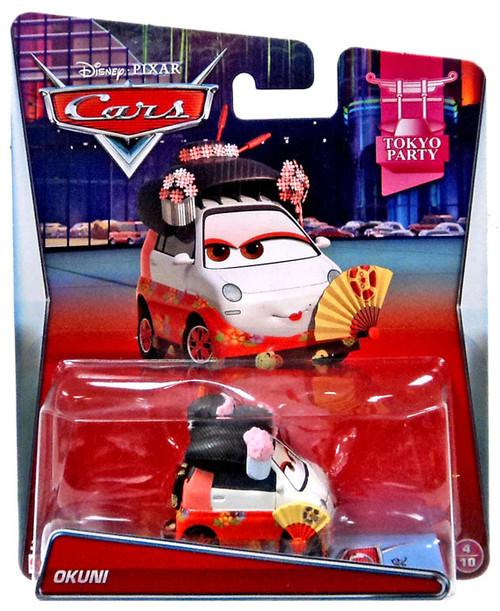 Disney / Pixar Cars Tokyo Party Okuni Diecast Car #4/10