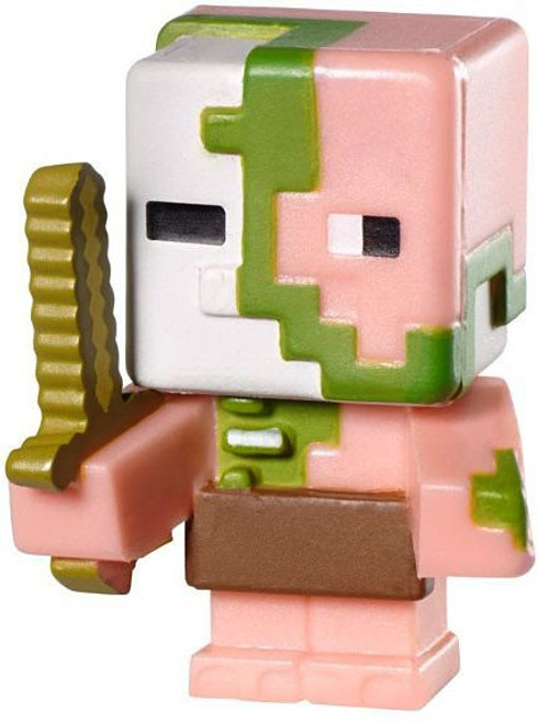 Minecraft Stone Series 2 Zombie Pigman 1-Inch Mini Figure [Loose]