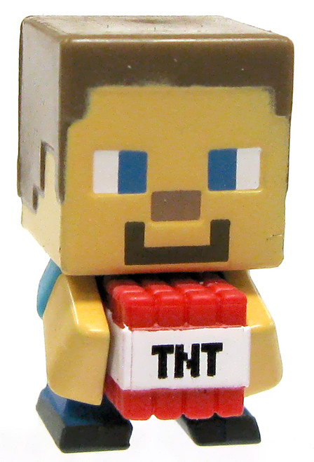 Minecraft Stone Series 2 TNT Steve 1-Inch Mini Figure [Loose]