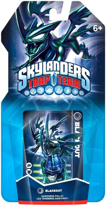 Skylanders Trap Team Blackout Figure Pack