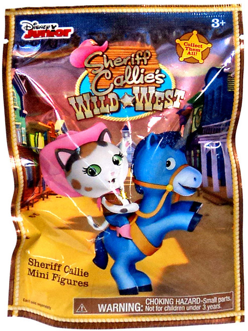 Sheriff Callie's Wild West Disney Junior Sheriff Callie Mini Figures 2-Inch Mystery Pack