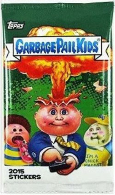 Garbage Pail Kids Topps 2015 Series 1 Trading Card Sticker Pack [9 Stickers!]