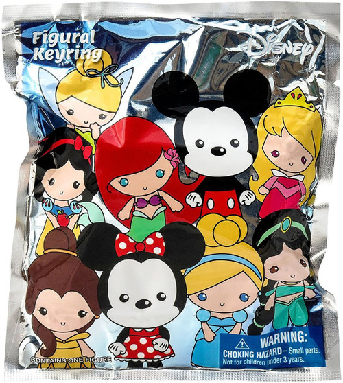 3D Figural Keyring Disney Series 1 Mystery Pack