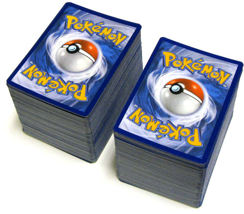 Pokemon Trading Card Game Lot of 400 Commons & Uncommons Single Cards