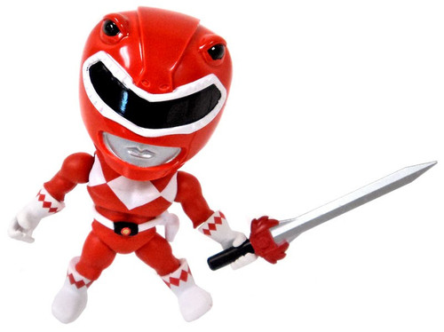 Power Rangers Mighty Morphin Series 1 Red Ranger 3.4-Inch Mini Figure [No Shield Regular Version Loose]