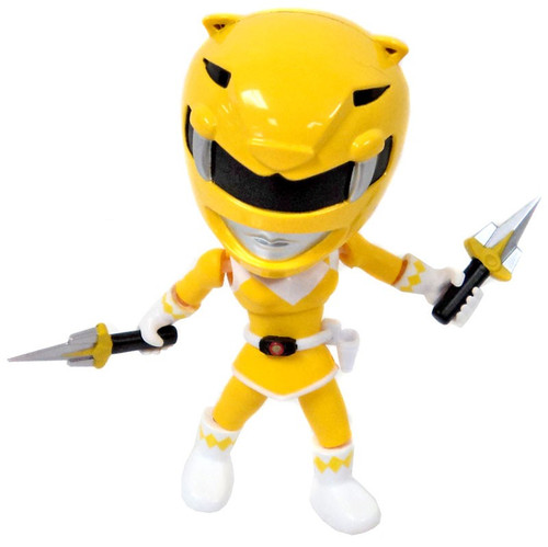 Power Rangers Mighty Morphin Series 1 Yellow Ranger 3.4-Inch Mini Figure [Loose]
