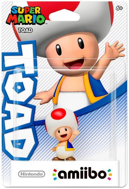 Nintendo Super Mario Amiibo Toad Mini Figure