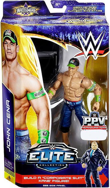 WWE Wrestling Elite Collection WrestleMania 30 John Cena Exclusive Action Figure [Chair]