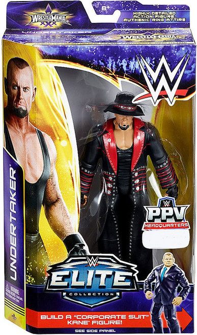 WWE Wrestling Elite Collection WrestleMania 30 Undertaker Exclusive Action Figure [Hat & Robe]