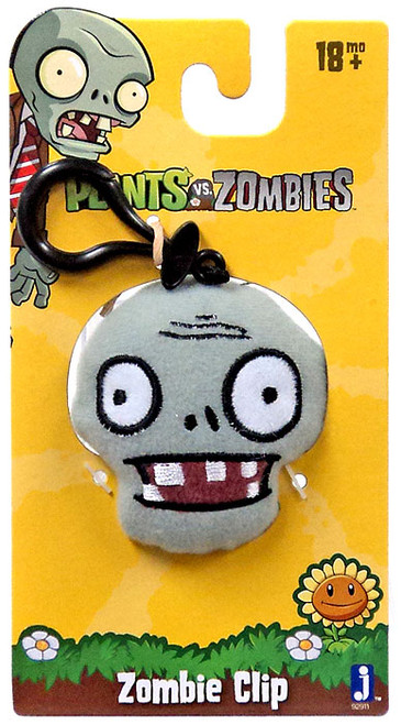 Plants vs. Zombies Zombie Plush Clip On