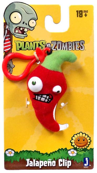 Plants vs. Zombies Jalapeno Plush Clip On