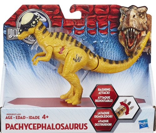 Jurassic World Bashers & Biters Pachycephalosaurus Action Figure
