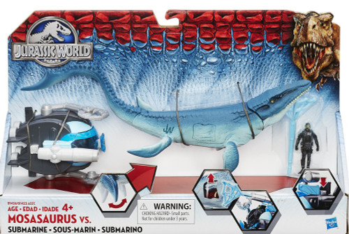 Jurassic World Mosasaurus vs Submarine Capture Vehicle
