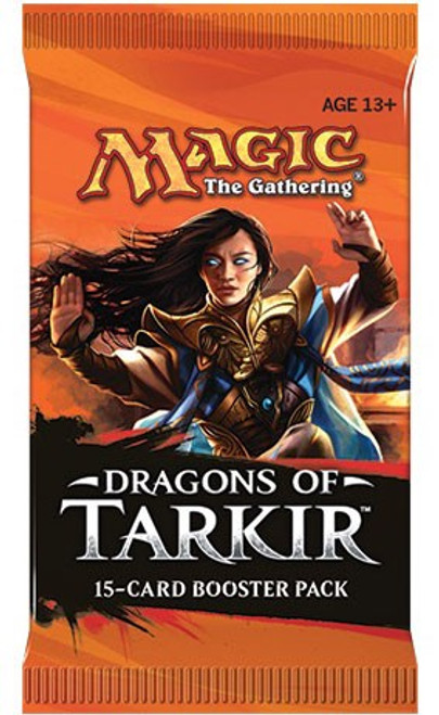 MtG Trading Card Game Dragons of Tarkir Booster Pack [15 Cards]