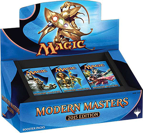 MtG Trading Card Game 2015 Modern Masters Booster Box [24 Packs]