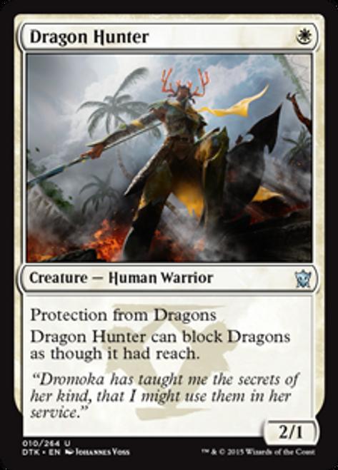 MtG Dragons of Tarkir Uncommon Dragon Hunter #10