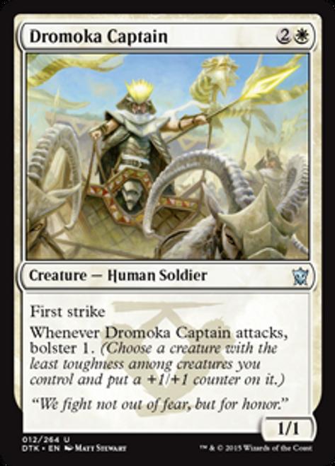 MtG Dragons of Tarkir Uncommon Dromoka Captain #12