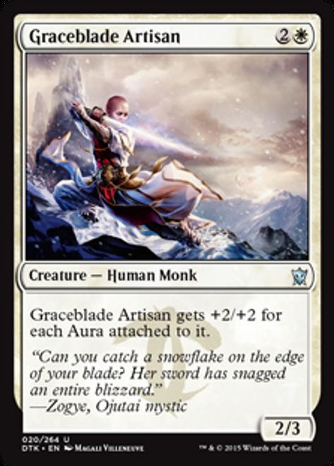 MtG Dragons of Tarkir Uncommon Graceblade Artisan #20