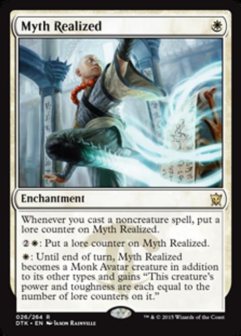 MtG Dragons of Tarkir Rare Myth Realized #26