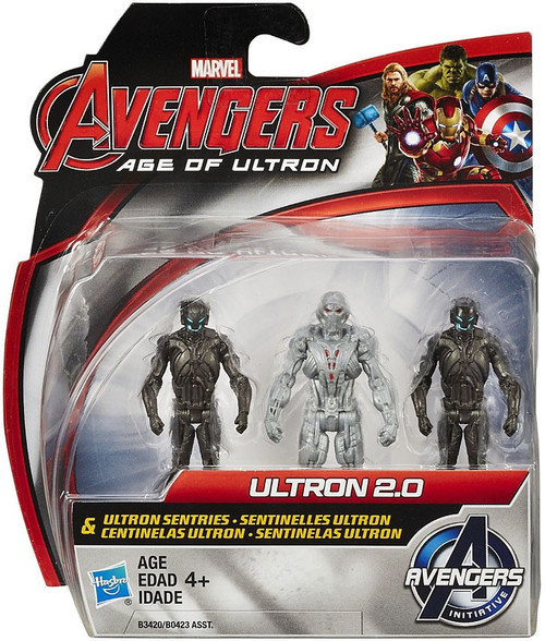 Marvel Avengers Age of Ultron Ultron 2.0 & Ultron Sentries Action Figure 2-Pack