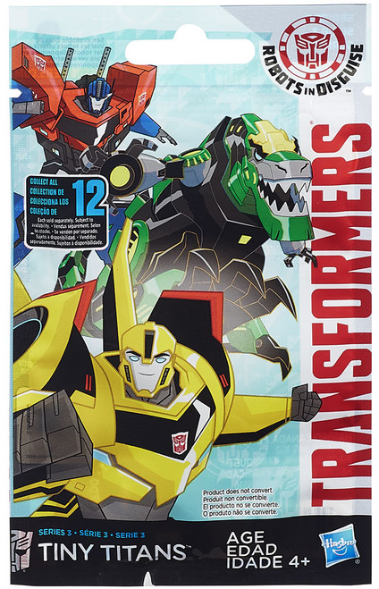 Transformers Robots in Disguise Tiny Titans Series 3 Mystery Pack