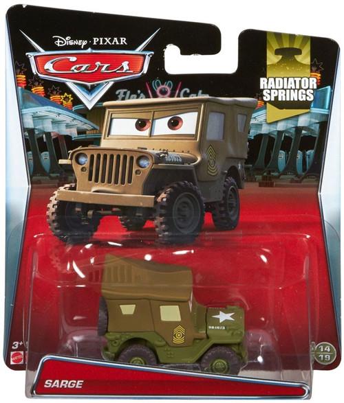 Disney / Pixar Cars Radiator Springs Sarge Diecast Car #14/19