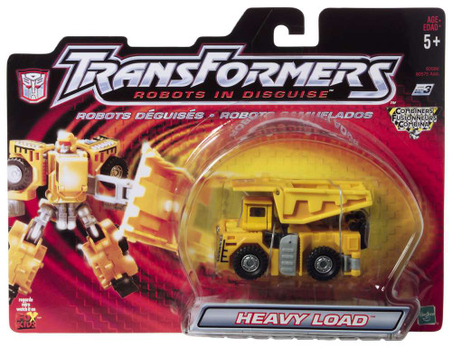 Transformers Robots in Disguise Heavy Load Action Figure
