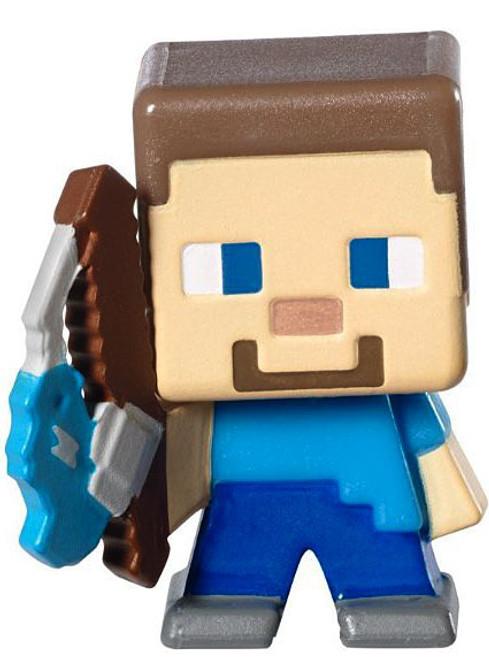 Minecraft Stone Series 2 Fishing Steve 1-Inch Mini Figure [Loose]