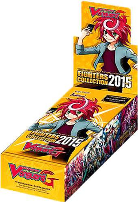 Cardfight Vanguard Trading Card Game Fighters Collection 2015 Booster Box VGE-G-FC01 [10 Packs]