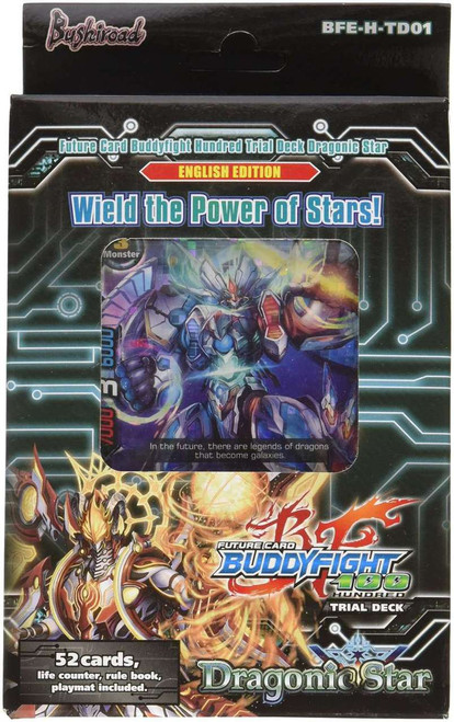 Future Card BuddyFight Trading Card Game Radiant Force Dragonic Star Vol.3 Trial Deck BFE-H-TD01