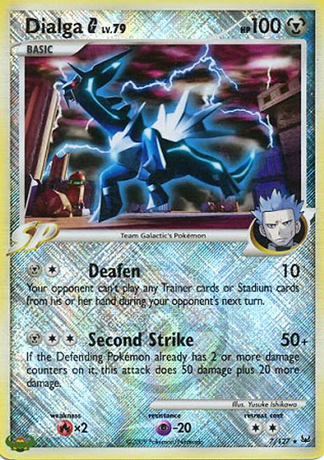 Trading Card Game Pokemon League Promo Rare Holo Dialga #7