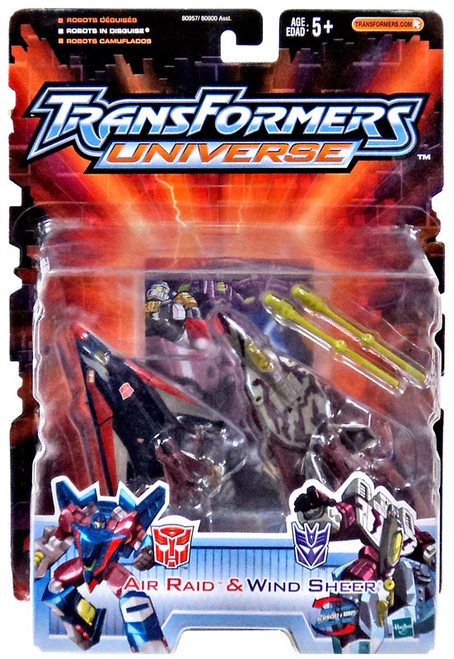Transformers Universe Air Raid & Wind Sheer Action Figure