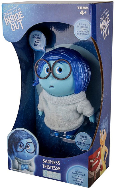 Disney / Pixar Inside Out Sadness Action Figure [Large, Mind Manual]