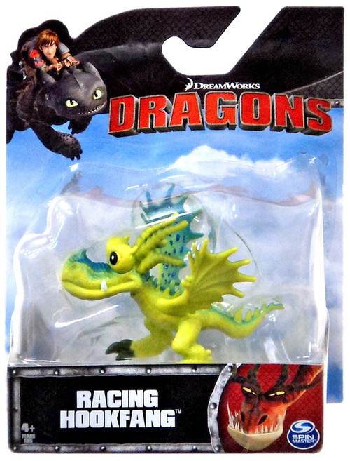 How to Train Your Dragon Dragons Racing Hookfang 3-Inch Mini Figure [Yellow]