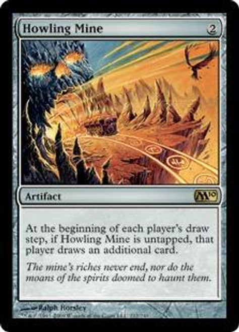 MtG 2010 Core Set Rare Foil Howling Mine #212