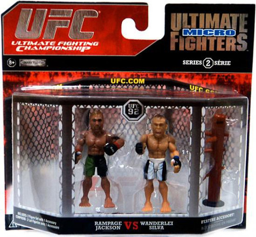 UFC Ultimate Micro Fighters Series 2 Quinton Jackson vs. Wanderlei Silva Mini Figure 2-Pack [Loose]